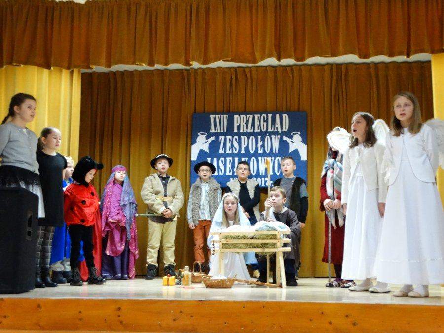 XXIV Gminny Przegląd Szkolnych Zespołów Jasełkowych w Grochowem