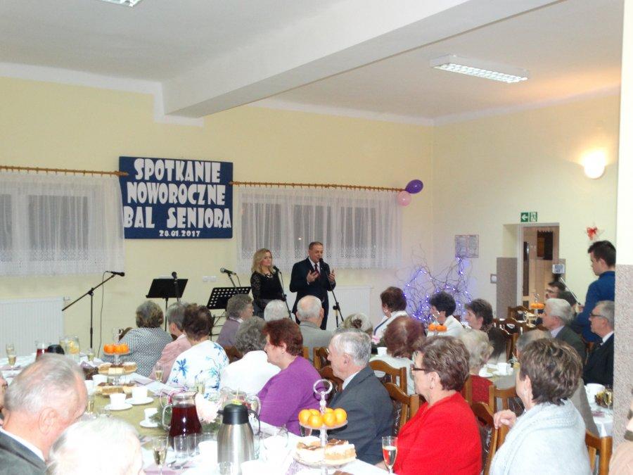 Odbyło się tradycyjne Spotkanie Noworoczne i Bal Seniora w Gminie Tuszów Narodowy