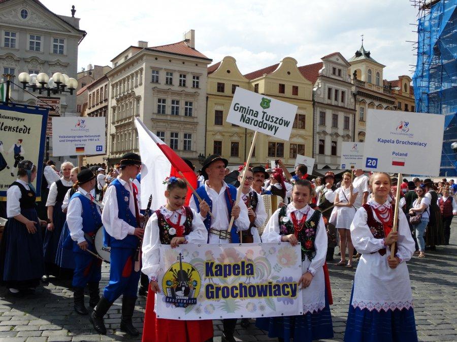 Grochowiacy  wrócili zXI Międzynarodowego Festiwalu wPradze