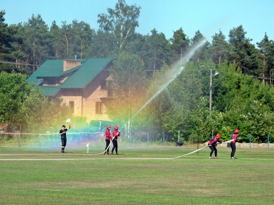 Zawody Sportowo - Pożarnicze Gminy Tuszów Narodowy