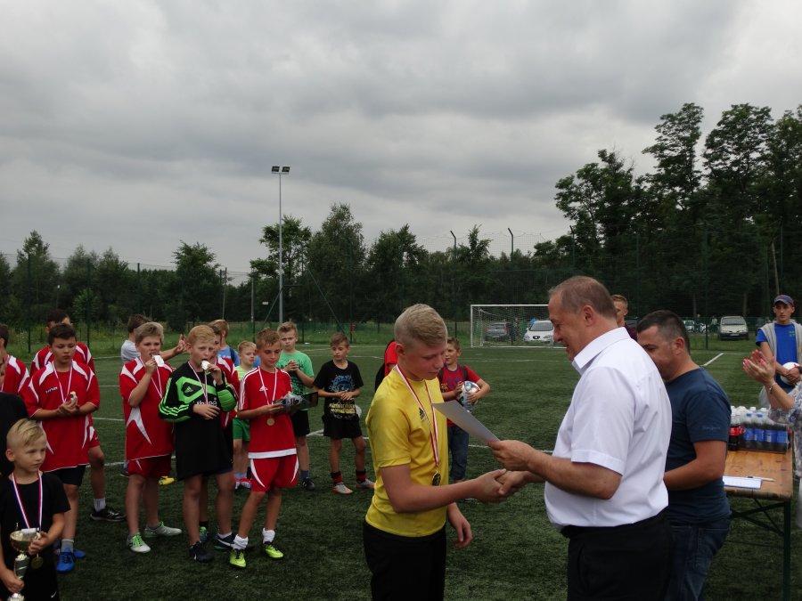 Najmłodsi zawodnicy grali o Puchar Wójta Gminy Tuszów Narodowy